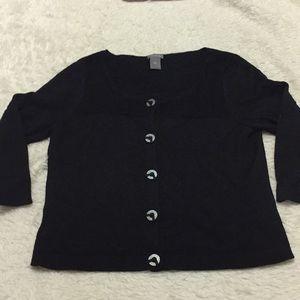 Ann Taylor black cardigan